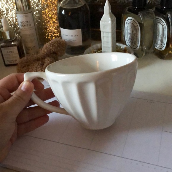 Anthropologie cappuccino mug!